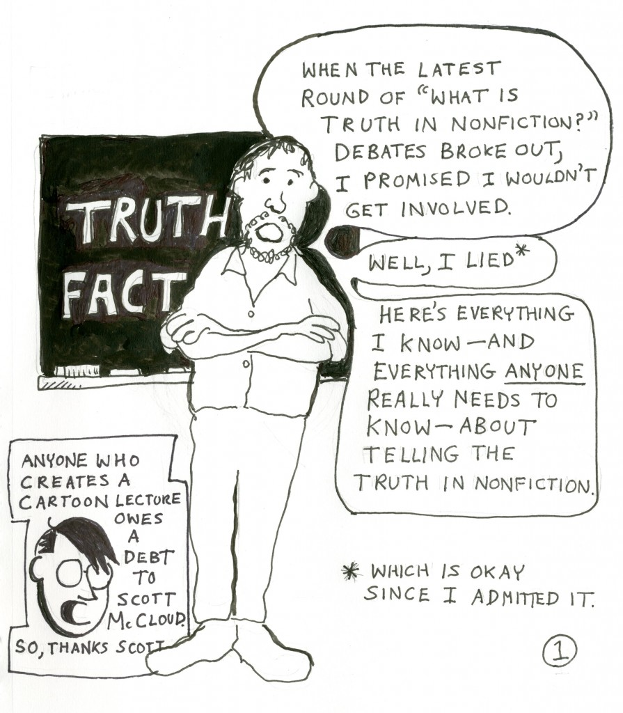 tell the truth essay