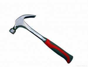 One-piece steel hammer