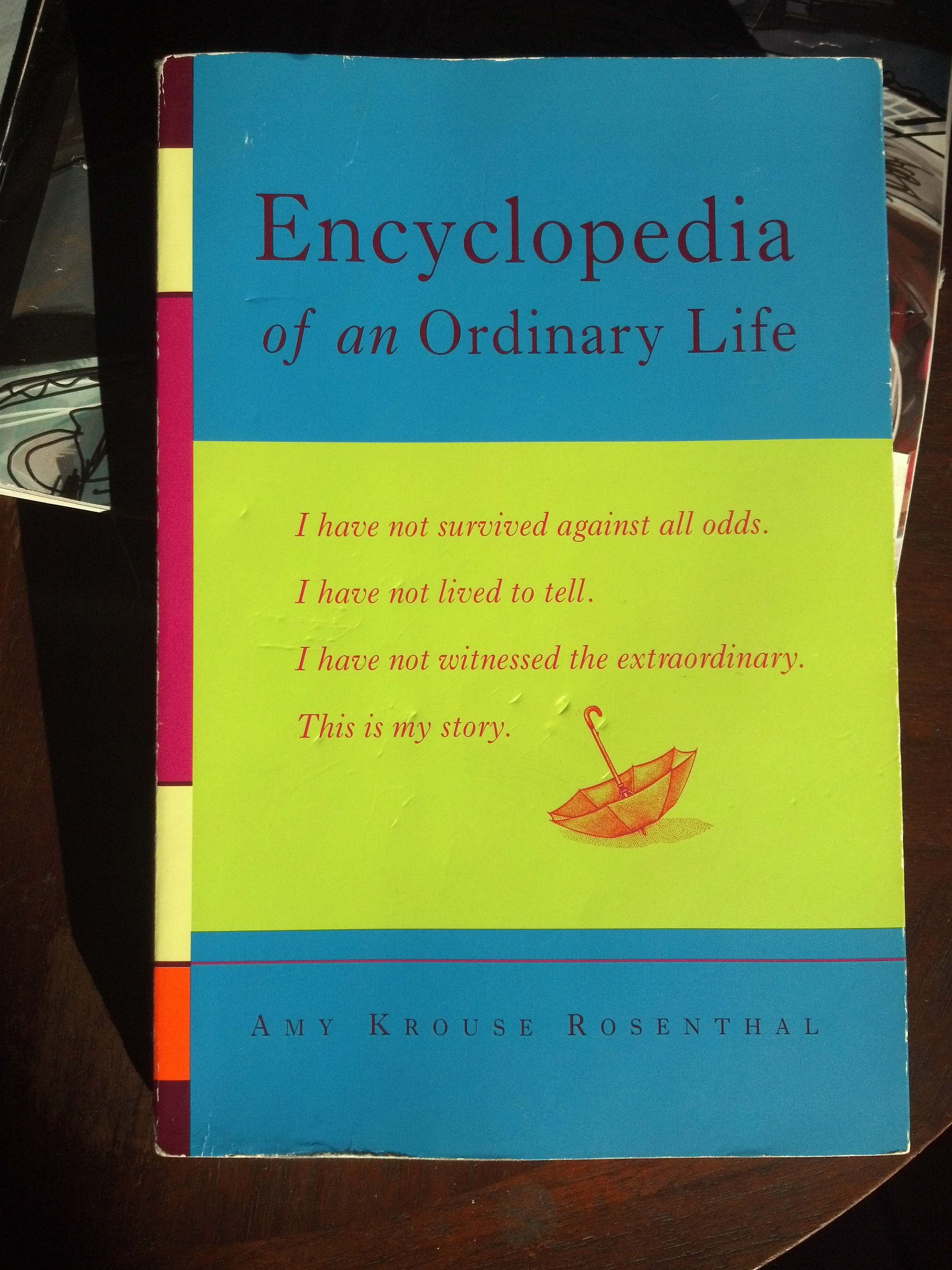 encyclopedia of an ordinary life pdf