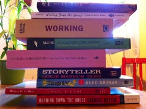 book spine poem 2