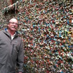 Seattle's wall of gum.  Smells nice.