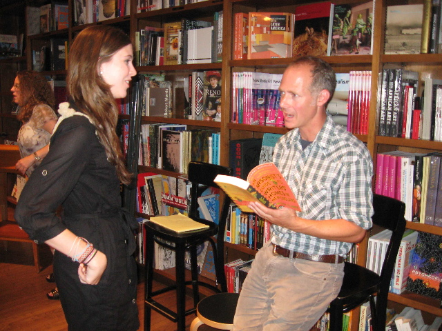 Brock Clarke at Books and Books, Miami