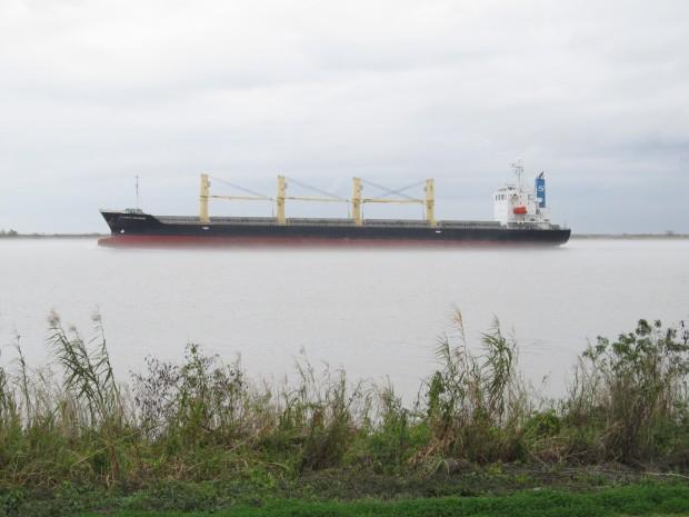 Fog on  the Mississippi.