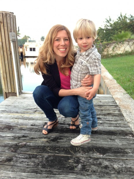 Melissa Falcon Field and Noah