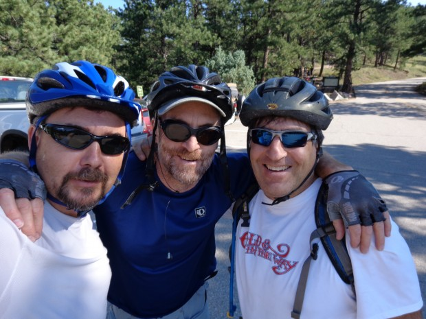 Up Flagstaff (barely) with Rob Bleiberg and Chris Brooks. Abbey would have mocked us, Stegner ignored.