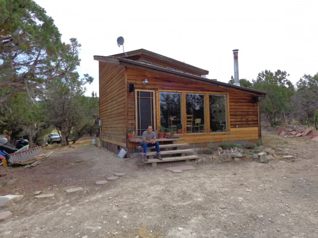 Rest stop at the top of the world. Adam Petry's cabin above Paonia, colorado.