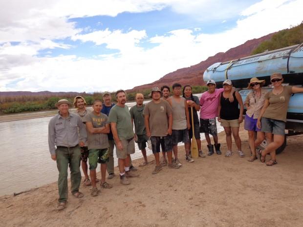 The river crew.