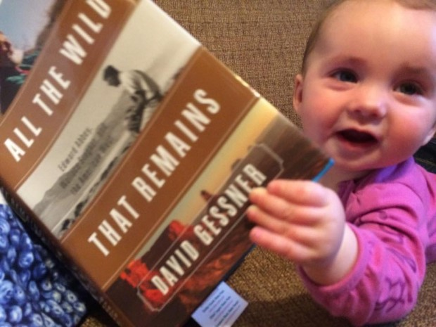 Everyone is reading it! (That's Cora Fallon, daughter of Katie,